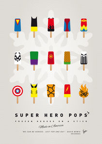 My SUPERHERO ICE POP - UNIVERS by chungkong