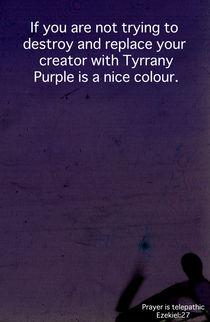 Purple Telepathy by literal-illustrations