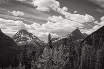 Glacier Peaks by John Bailey