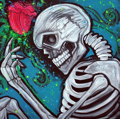 Skeleton-rose-by-laura-barbosa