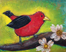 'Scarlet Tanager' by Laura Barbosa