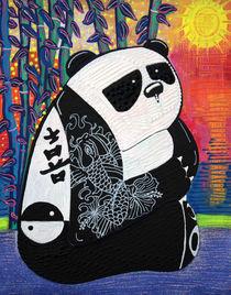 Panda Zen Master von Laura Barbosa