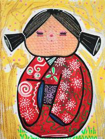 Kokeshi von Laura Barbosa