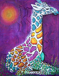Giraffe of Many Colors von Laura Barbosa
