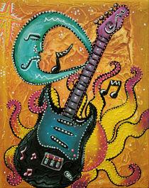 Celestial Guitar by Laura Barbosa