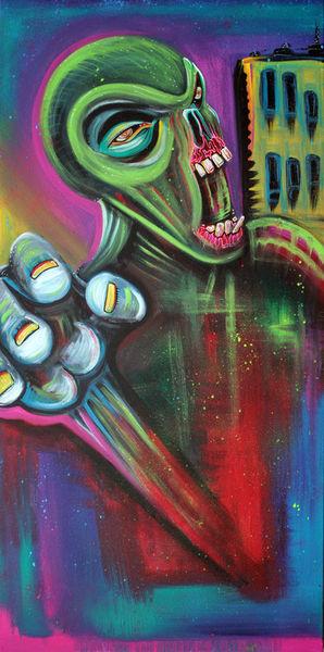 Alien-zombie-by-laura-barbosa
