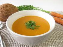 Karottencremesuppe mit Kokosmilch by Heike Rau