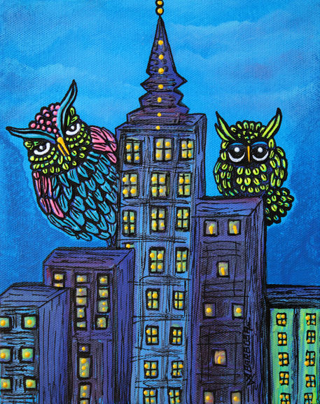 Night-owls-by-laura-barbosa