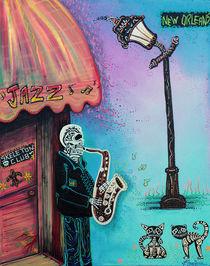 The New Orleans Skeleton Club von Laura Barbosa