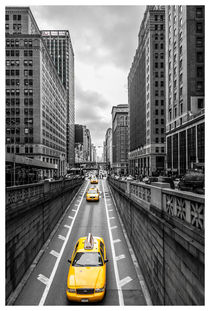 NYC Yellow Cub by Michal Zaczek