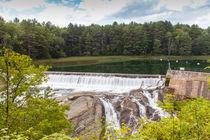 Dam On The Ottauquechee River by John Bailey