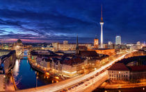 Berlin City Lights von Marcus  Klepper