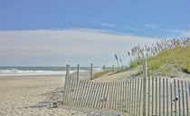 einsamer Strand  by M.  Bleichner