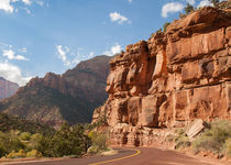 Zion Scenic Drive by John Bailey