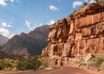 Zion Scenic Drive von John Bailey