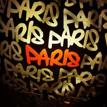 Paris lettering by mthz
