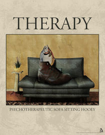 Therapy Poster by Galen Valle