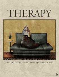 Therapy Poster von Galen Valle
