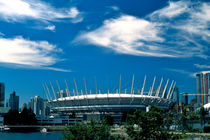 Stadium and Clouds 733 by Patrick O'Leary