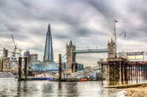 River Thames View by David Pyatt