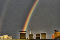 Regenbogenmaschine von Frank Voß