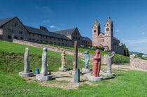Abtei St. Hildegardis-Westseite neu von Erhard Hess