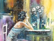 Coco Chanel Dreaming Of Igor Stravinsky by Miki de Goodaboom
