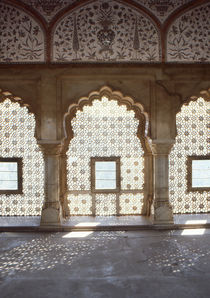 indo islamic carved windows  by bruno paolo benedetti