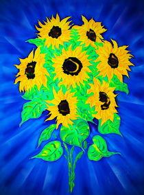 Sonnenblumen von Walter Zettl