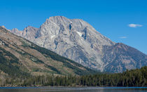 Mt Moran At The Grand Tetons by John Bailey