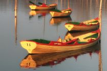 Ruhende Boote by Bruno Schmidiger