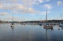 Falmouth Yacht Moorings by Malcolm Snook