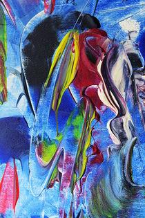 Akt Abstrakt 5 by Walter Zettl