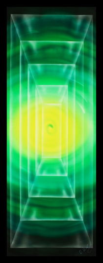 Art Deko Rechteck 3 by Walter Zettl