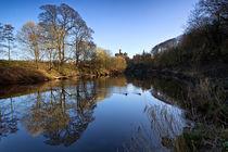 Warkworth Castle by David Pringle