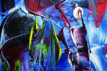 Abstrakt 11 von Walter Zettl