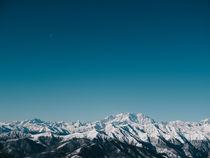 Monte Rosa mountain range by Emanuele Capoferri