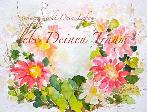 Malen-am-meer-magariten-rosa-aquarell-sonja-jannichsen-mit-textpsd