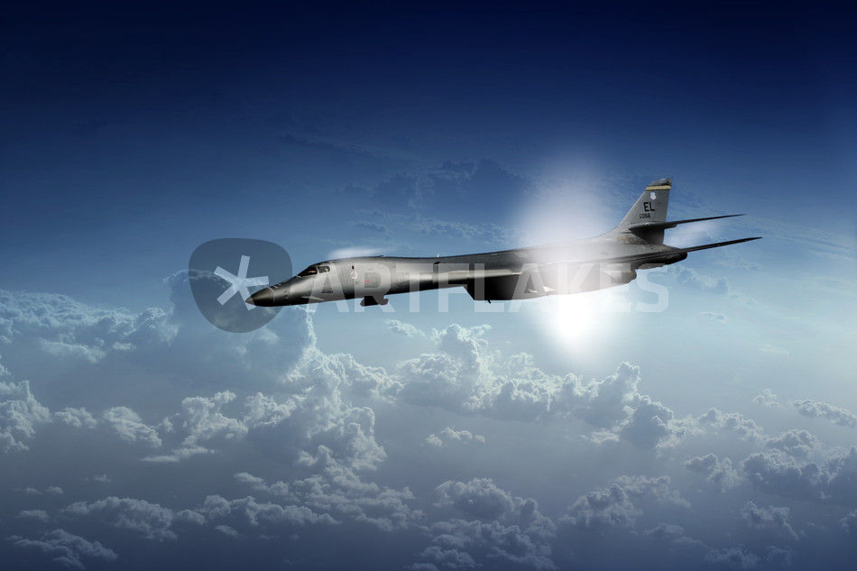 """""""B1 Supersonic"""" Picture art prints and posters by James ... B1 Lancer Supersonic"""