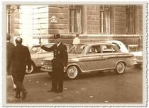 Le Flic - Paris 1964 by techdog