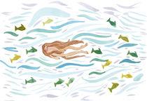 Swimming II von Lone Aabrink