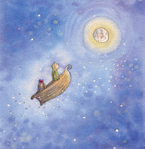 Moonboat by Lone Aabrink