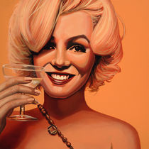 Marilyn Monroe painting 5 von Paul Meijering
