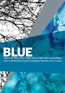 Colour Me Blue by Rene Steiner