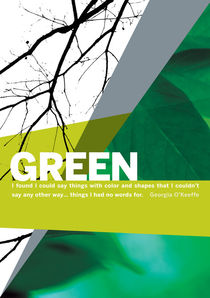 Colour Me Green by Rene Steiner