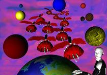 Die Engel verlassen die Erde by Klaus Engels