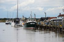 River Blyth At Southwold by Malcolm Snook