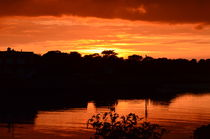 Sunset OnThe River Blyth by Malcolm Snook