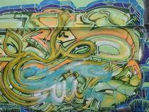 London Graffiti 2 von Malcolm Snook