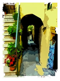 View into an italian alley 1 by brava64